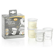 Closer to Nature Breast Milk Storage Containers