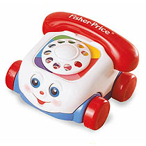 Fisher Price Brilliant Basics Chatter Phone