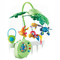 Fisher Price Rainforest Mobile with remote control