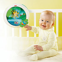 Fisher Price Rainforest Peek-N-Play Waterfall Soother