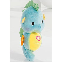Fisher Price Soothe & Glow Blue Seahorse