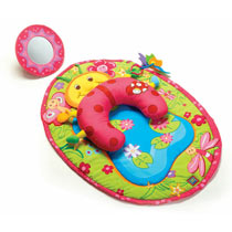 Tiny Love Tummy Time Fun Ladybug Pillow and Mat