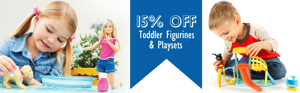 15 off Toddler Playsets