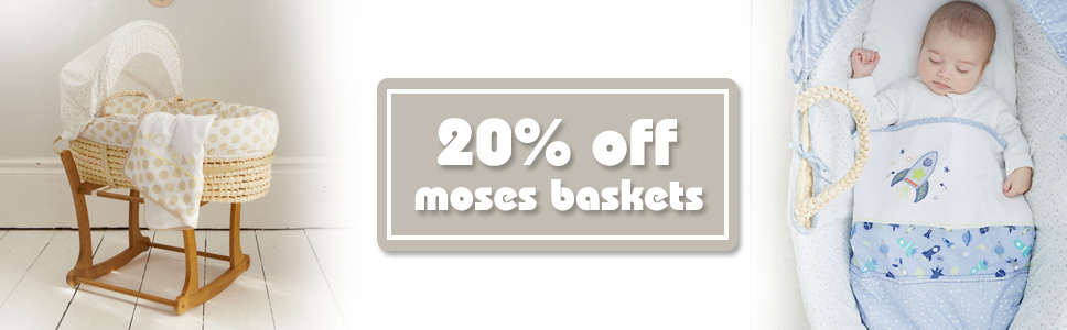 20 Off Moses Baskets