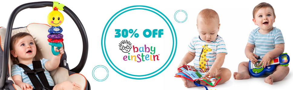 30 off Baby Einstein