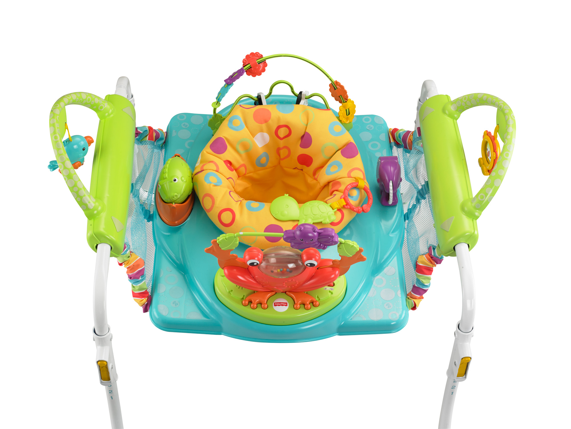 Great price on fisher price first steps jumperoo babycity for Door jumperoo