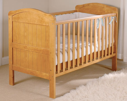 East coast country cot bed at - Cunas para bebes de madera ...