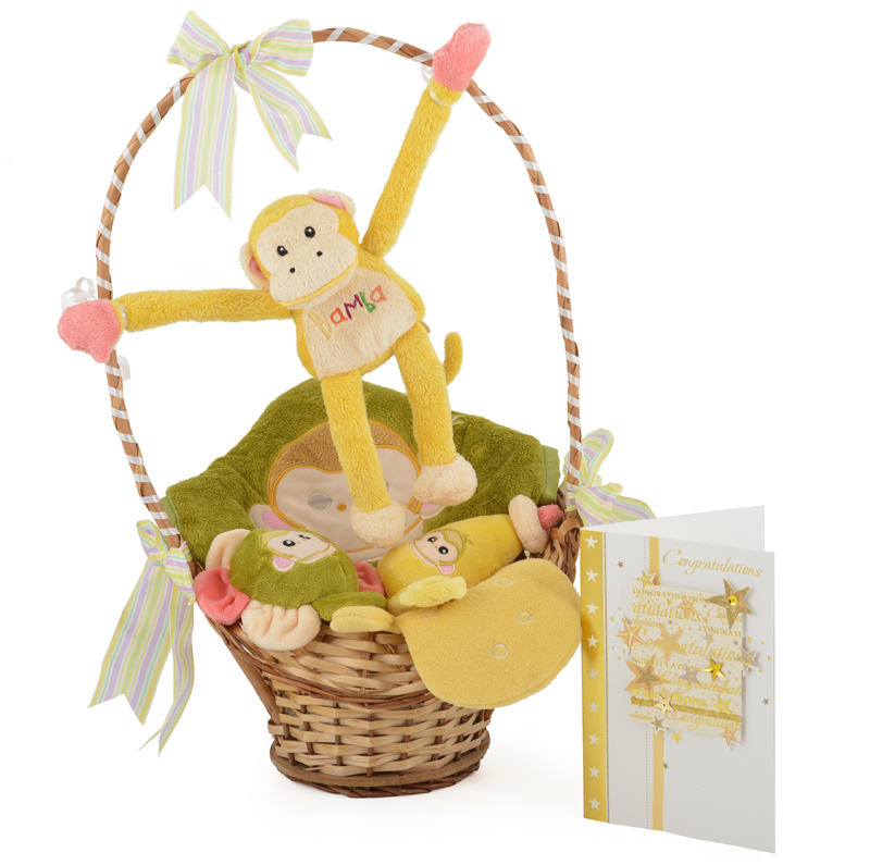 Baby Gift Basket Co : Baby s bamba chatterbox basket