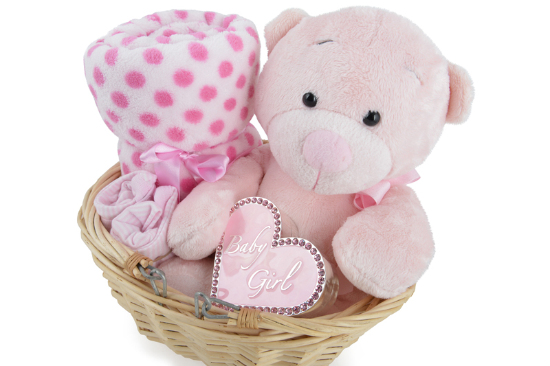Baby Gift Images : Gorgeous baby girl gift basket