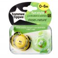 Closer to Nature Fun Style Soother Twin Pack 0-6m