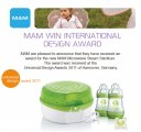 MAM Wins International Design Award