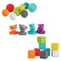 "Infantino Sensory Balls"","" Blocks & Buddies Set"