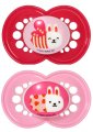 MAM Moshi Moshi 6m+ Soother Twin Pack