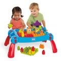 Mega Bloks Build & Learn Table Blue