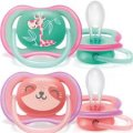 Philips Avent Ultra Air Soother Girl 18m+ 2Pk