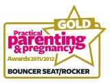 GOLD Award in the 'Best Bouncer Seat/Rocker' category