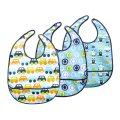 JJ Cole 3 piece Bib Set Blue