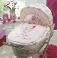 Lollipop Lane Upsy Daisy Moses Basket Maize with Toy
