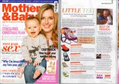 Featured in Mother and Baby Magazine