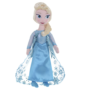 "Frozen Elsa and Anna Ragdoll 10"" Assortment"