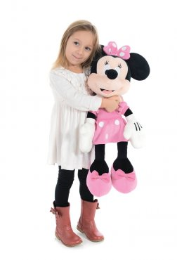 """Minnie Mouse Pink 24"""" Large Soft Toy"""