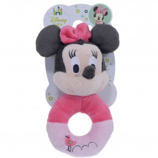 Minnie Mouse Baby Cute Ring Rattle