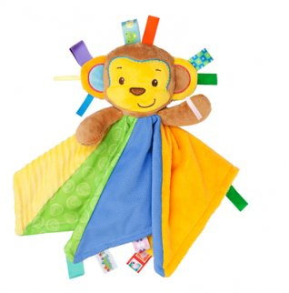 Taggies Patchkin Blankies - 3 Characters