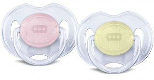 Philips Avent Translucent Orthodontic Soothers