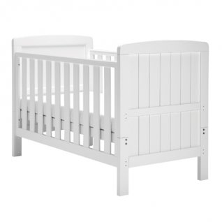 East Coast Austin White Cot Bed