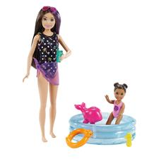 Barbie Babysitter Pool & Toddler