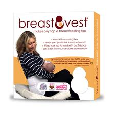 Breastvest White Large
