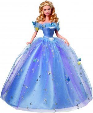 Cinderella Royal Doll in Blue Dress