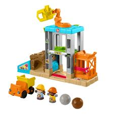 Fisher-Price Little People Load Up & Learn Construction Site