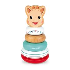 Janod Sophie La Girafe Stackable Roly-Poly