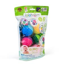 Lalaboom Educational Beads 12Pk