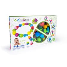 Lalaboom Educational Beads And Accessories 36Pk