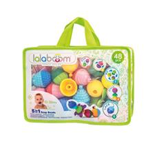 Lalaboom Educational Beads And Accessories 48Pk