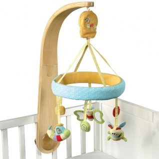Little Bird Told Me Luxury Cot Mobile Unisex