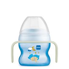 MAM Starter Cup & Glow with Handles Blue 150ml