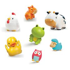 Munchkin Bath Squirters Farmyard Friends 8Pk