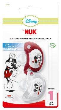 Mickey & Minnie Soothers Twin Pack - 0-6 months