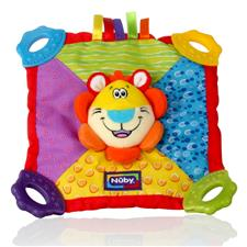 Nuby Teether Plush Blanket