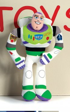"Toy Story 3 Woody, Buzz & Jess 8"" Plush Asst"