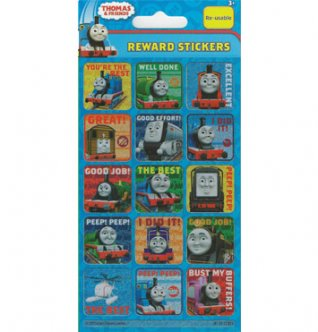 Paper Projects Thomas & Friends Reward Stickers 95mm x 195mm