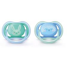 Philips Avent Ultra Air Soother Boy 6-18m 2Pk