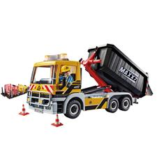Playmobil City Action Construction Truck with Tilting Trailer