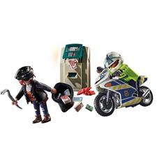 Playmobil City Action Police Bank Robber Chase