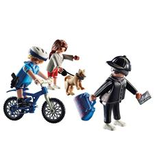 Playmobil City Action Police Bicycle with Thief