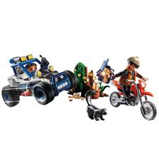 Playmobil City Action Police Off-Road Car with Jewel Thief