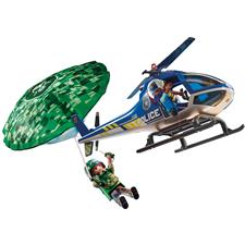 Playmobil City Action Police Parachute Search